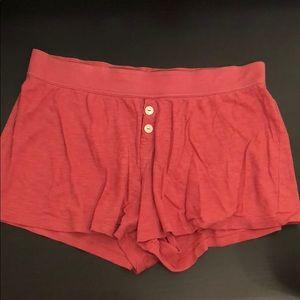 Women's pajama shorts